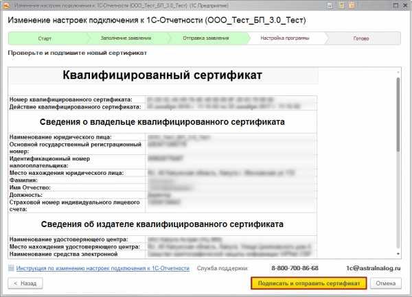 Электронная отчетность сертификат приказ о сдаче документов в бухгалтерию